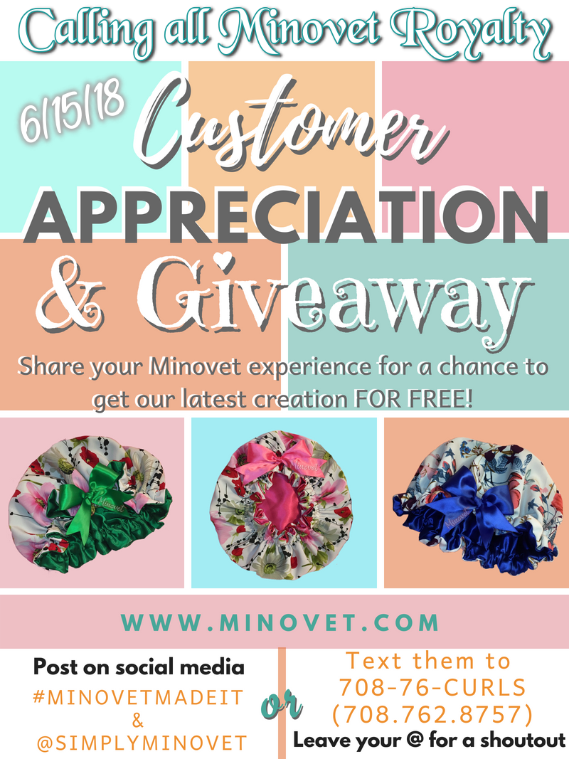 Customer Appreciation and Giveaway
