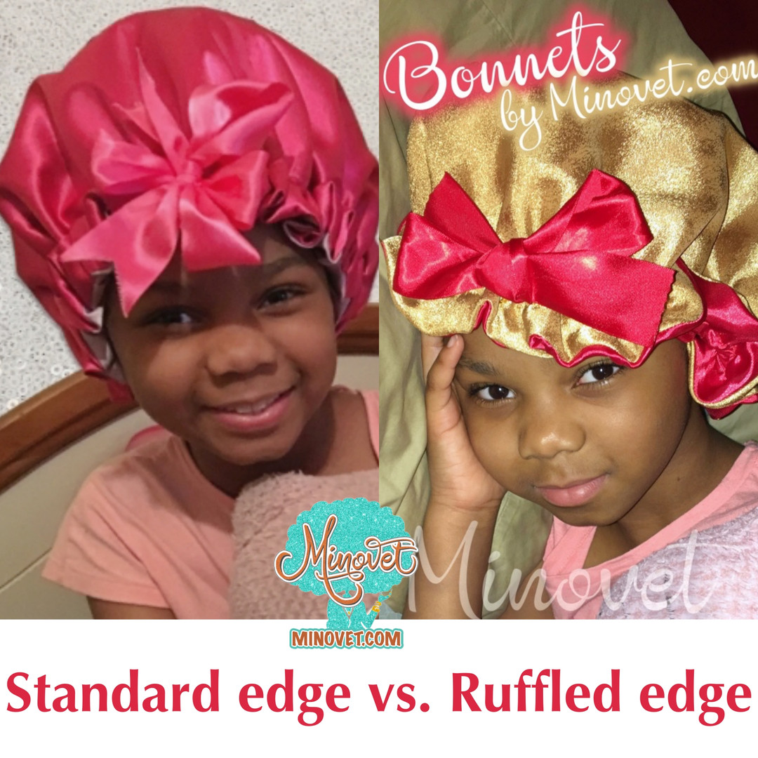 Satin Bonnet Styles Standard edge vs. Ruffled edge 1.jpg