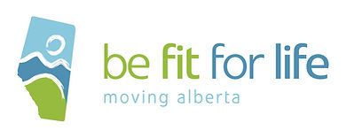 This is the logo for Be Fit for Life