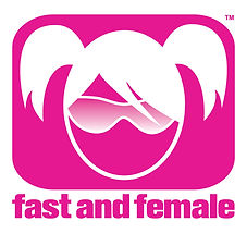 This is the logo for Fast and Female