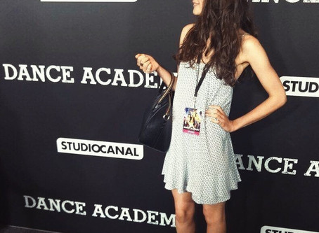 #DanceAcademyMovie premiere