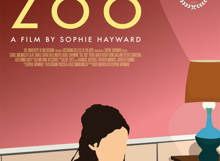 I'm on The Zoo poster!