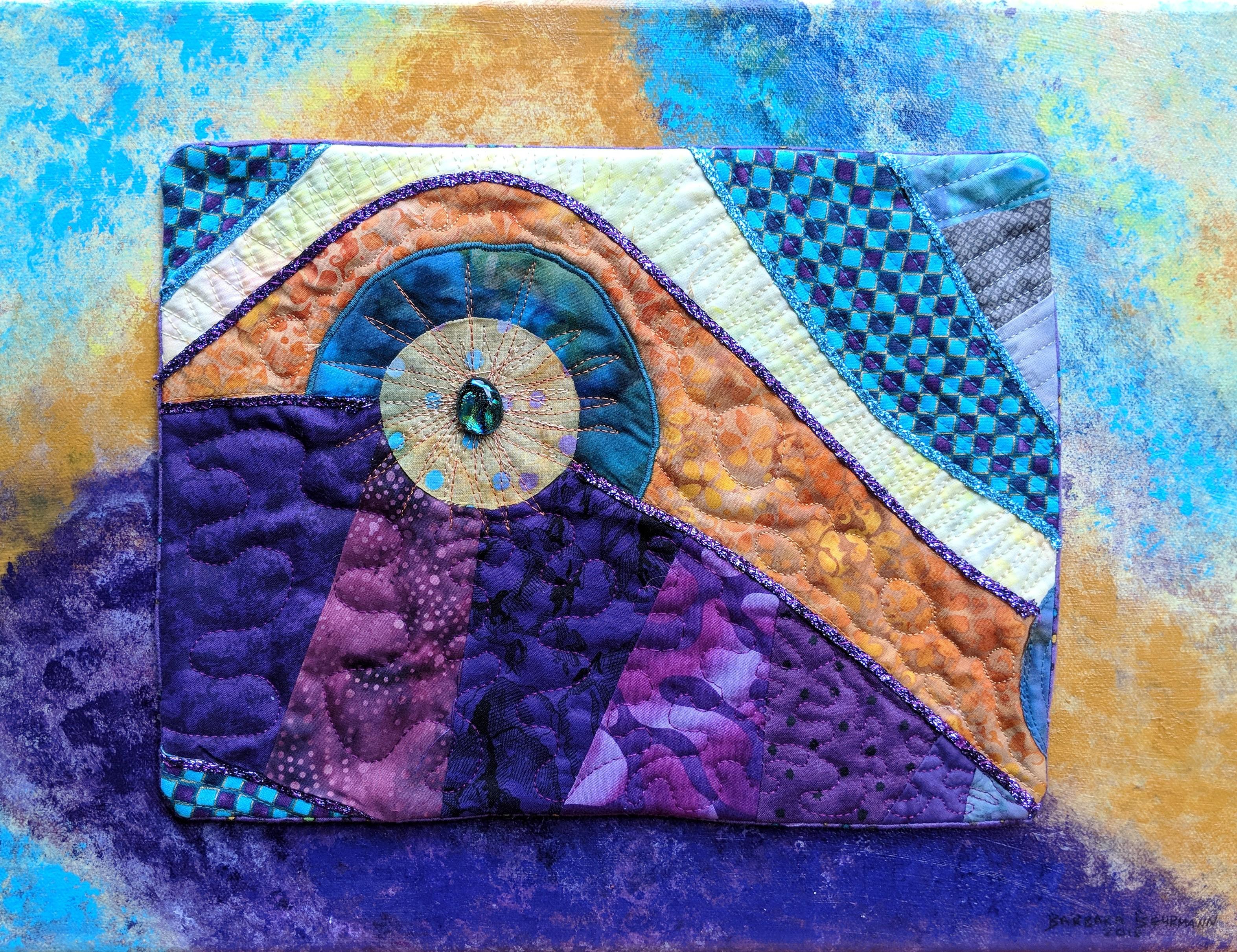 "Imaginary Landscape #4 (12"" x 16"")"