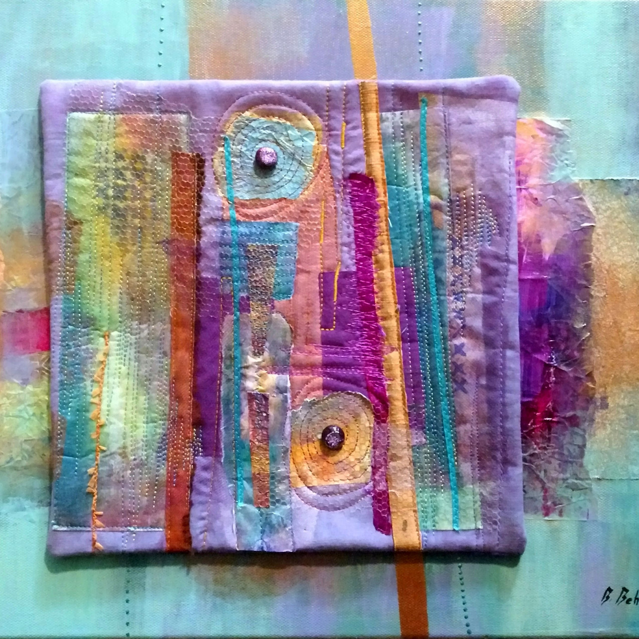"""Mixed-media collage (14"""" x 18"""")"""