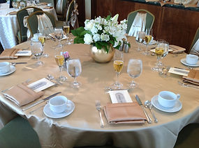 Luncheon Tablescape