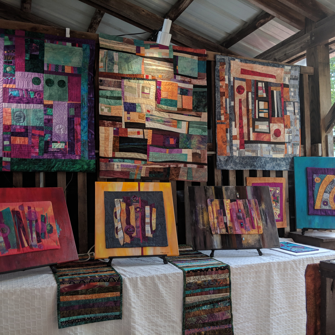 Exhibit at Ithaca Artists Market