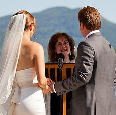 Wedding Ceremony on Lake George