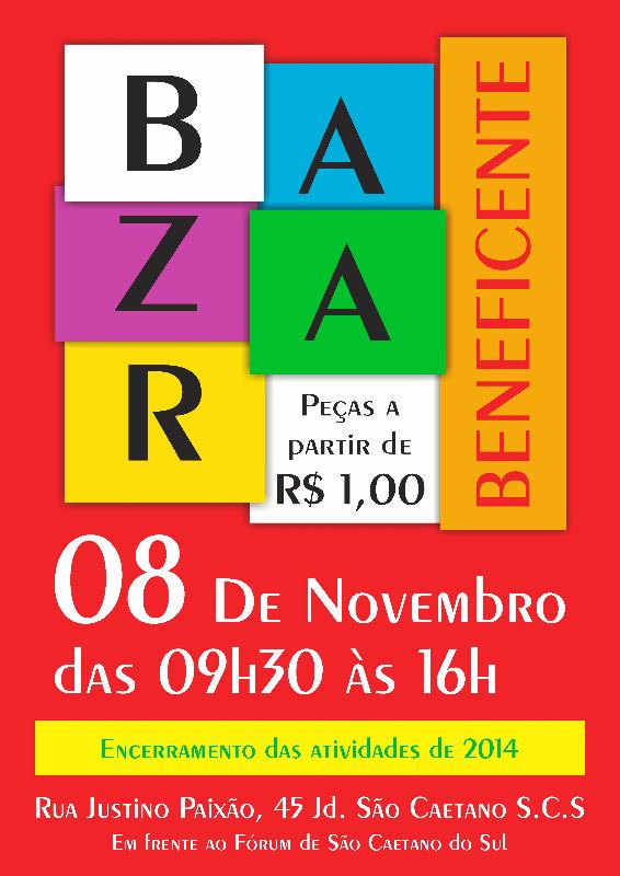 Bazar Beneficente - Encerramento 2014