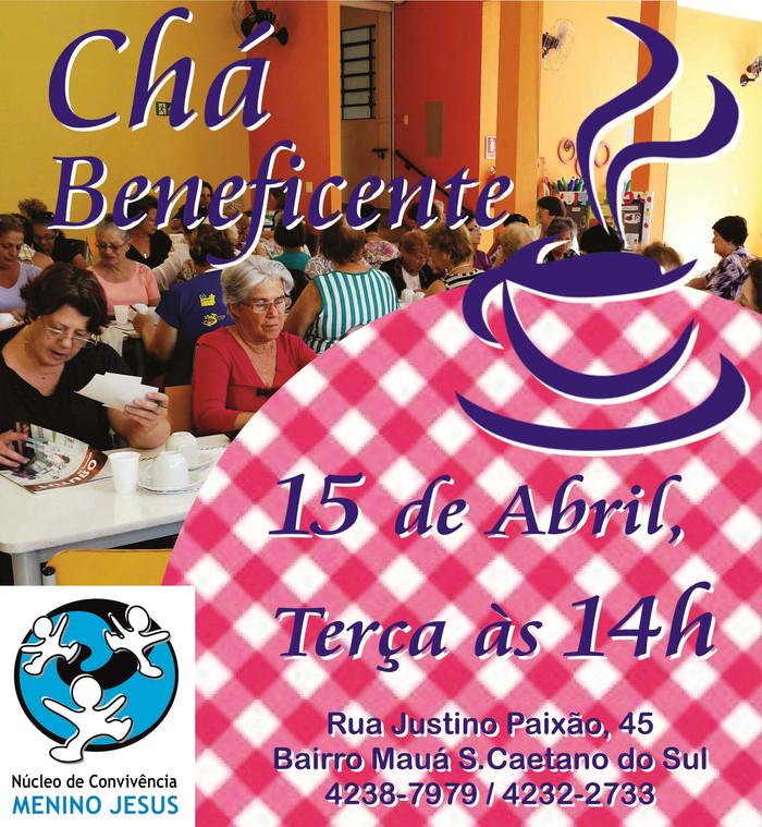 Chá Beneficente de Abril
