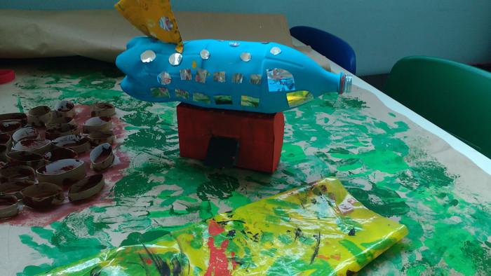Nosso projeto Wall-E continua encantando as crianças