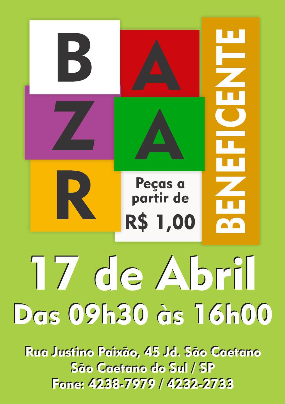 Bazar Beneficente de Abril