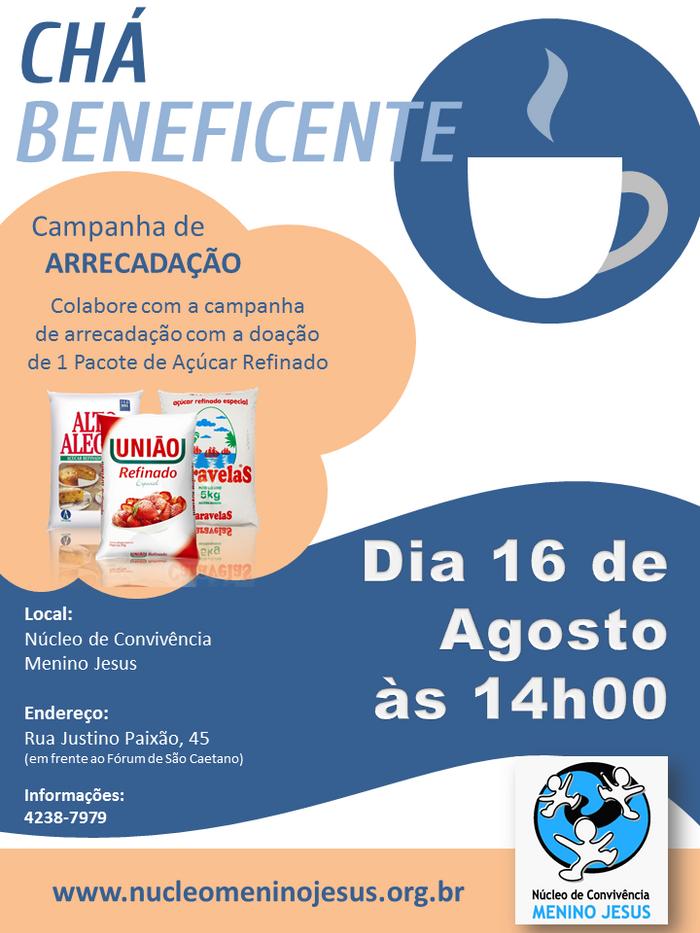 Chá Beneficente de Agosto