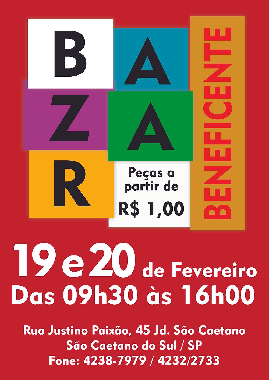 Bazar Beneficente de Fevereiro