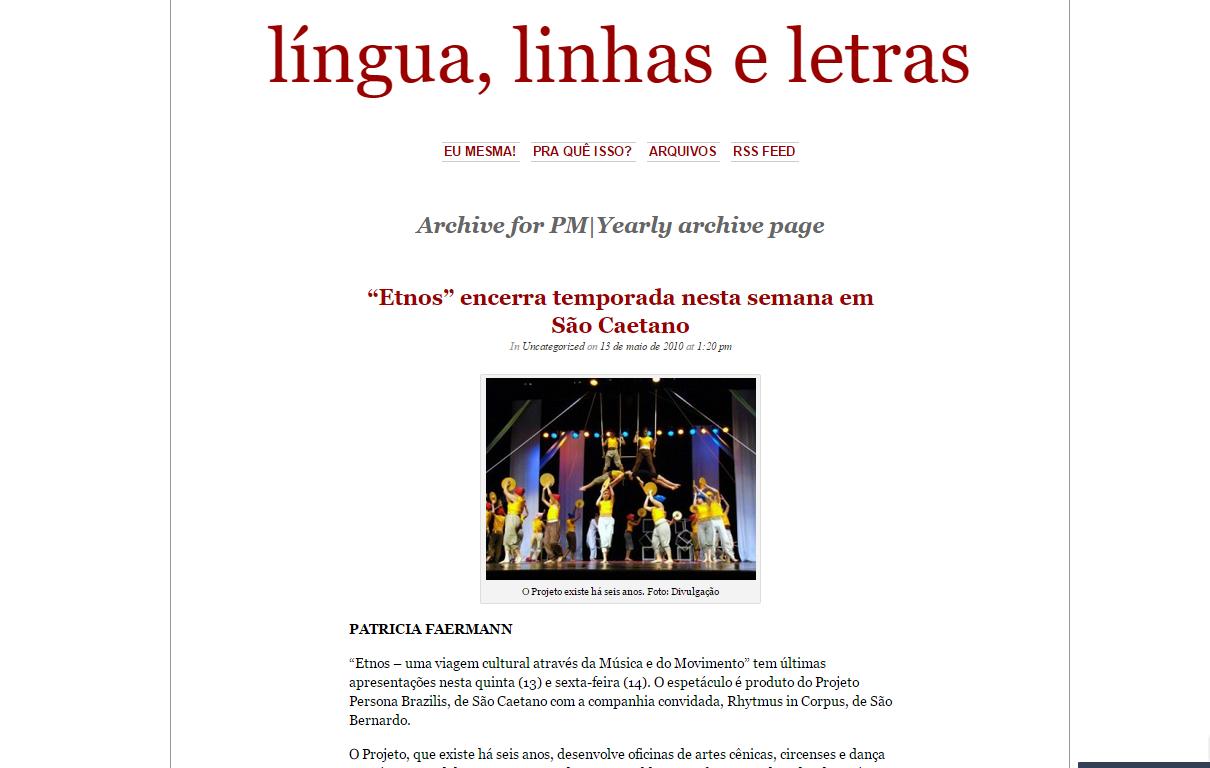 """""""Etnos"""" encerra temporada nesta sema"""