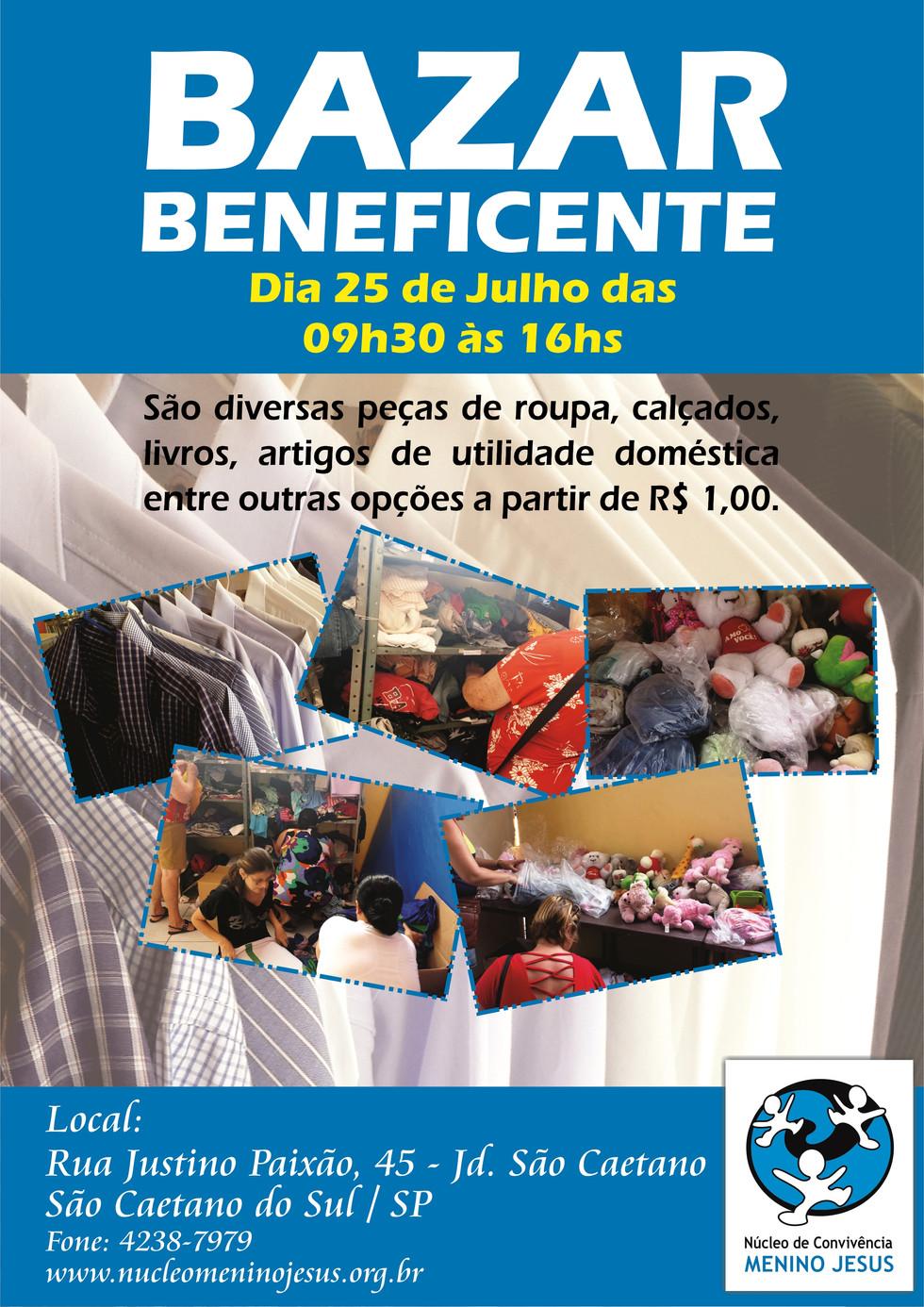 Bazar Beneficente de Junho