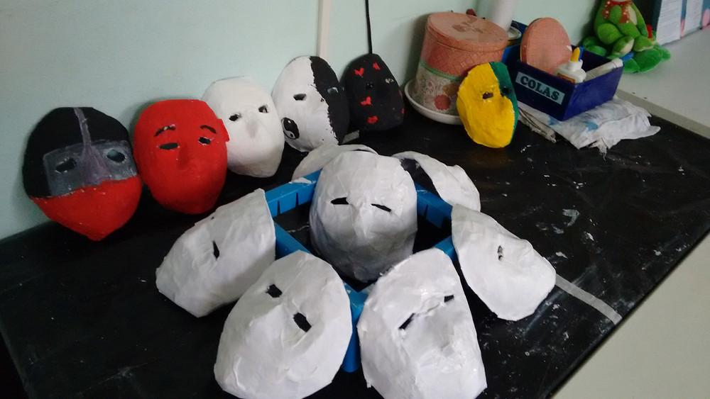 Projeto Identidade - Máscaras