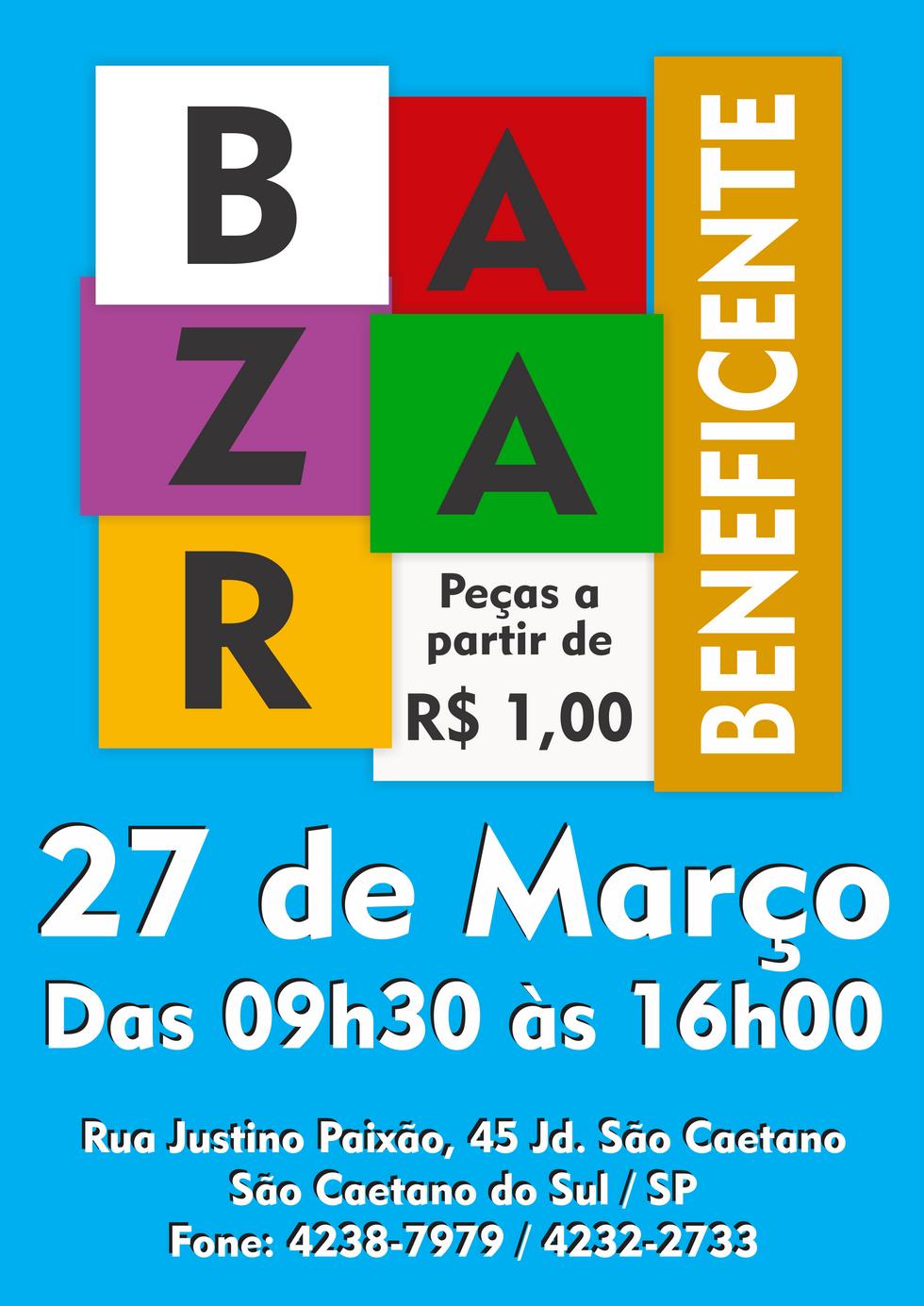Bazar Beneficente de Março