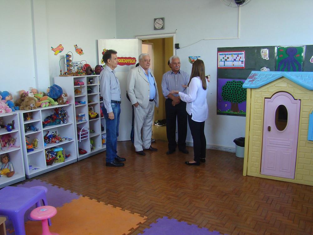 Núcleo recebe visita do Prefeito de São Caetano do Sul
