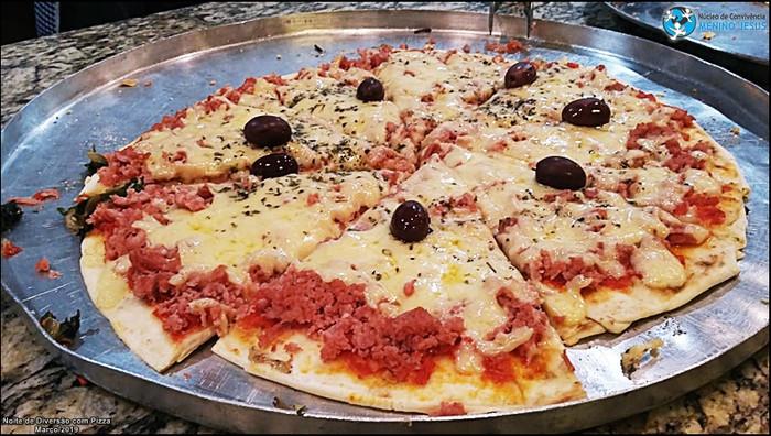 Confira os momentos da Noite de Diversão com Pizza