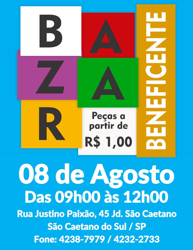 Bazar Beneficente de Agosto