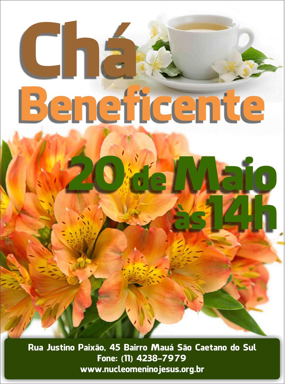 Chá Beneficente de Maio