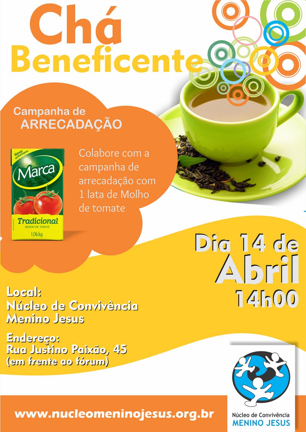 Chá Beneficente de Março