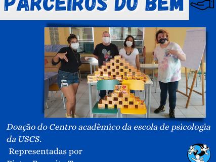 Parceiros do Bem - Centro Acadêmico da Escola de Psicologia da USCS