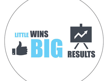 Little wins, BIG results