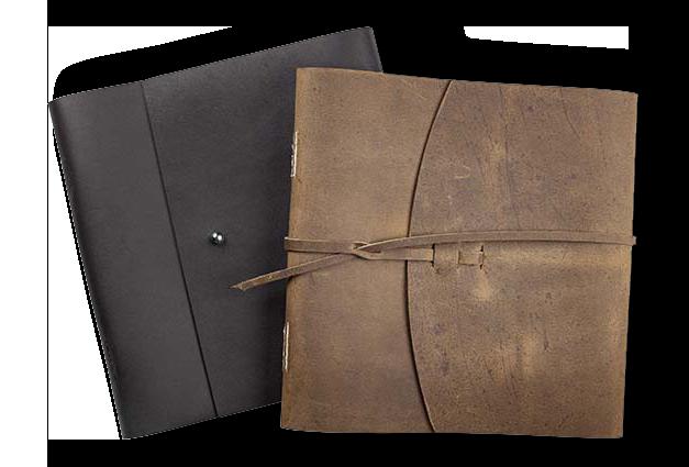 Leather Folios