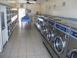 Snapshot of the 24 hour laundromats interior