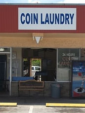 24 hour laundromat clearwater fl as seen from Drew Street -the laundromat has coin, soap and drinks vending machines on site. Laundromat parking is also available around the back of the store with the back entrance opened for convenient access to laundry