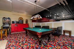 Game Room Billiard Table