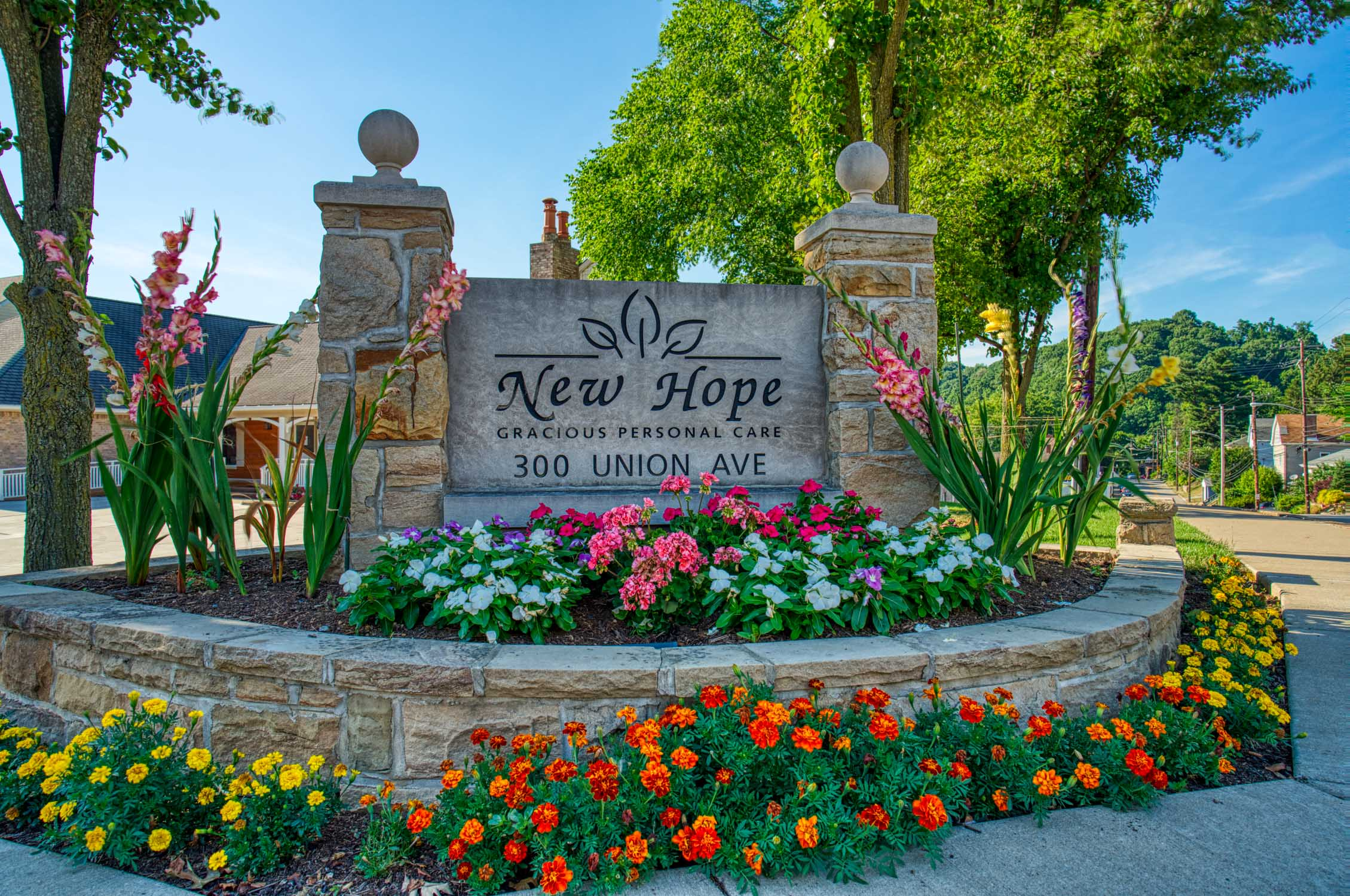 New Hope Corner Sign