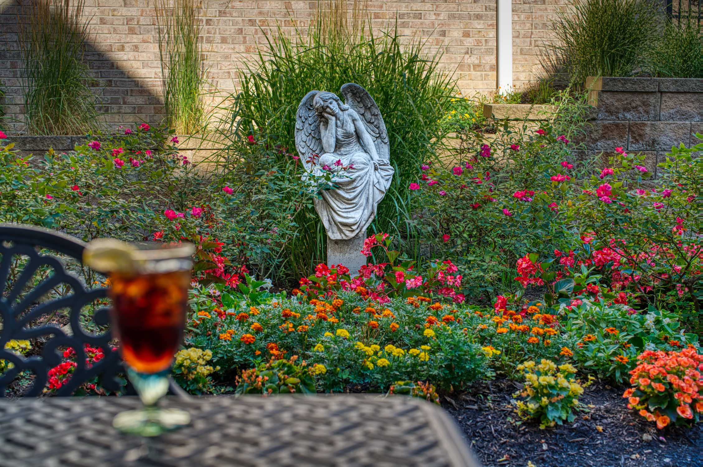 Courtyard Garden Angel