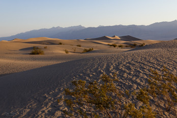 Mesquite Flat Sand Dunes, Death Valley, Kalifornien, USA 2018