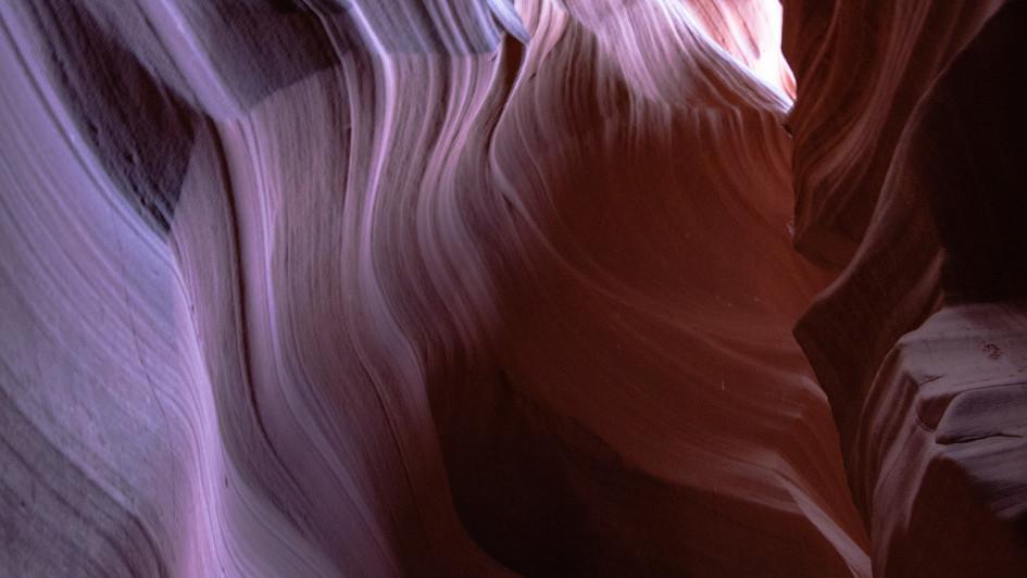 Antelope Canyon abstrakt
