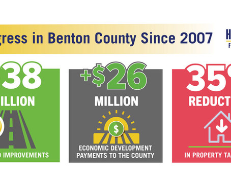 Benton County Led the way … and They are Reaping the Benefits