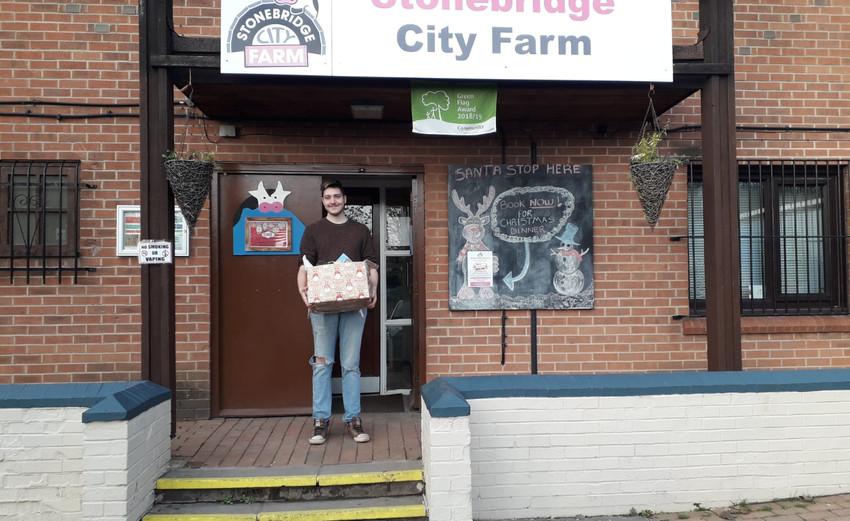 Bags of Blessings delivered to Stonebrid