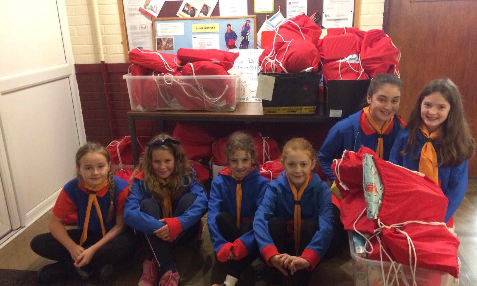 Woodthorpe Guides Helping