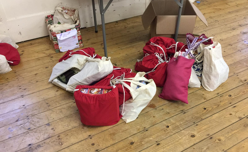 Bags of Blessings delivered to Netherfie