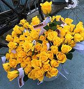 Zonta Says No - gele rozen actie