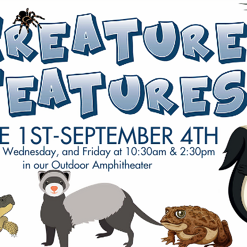 Creature Features: Week of July 13