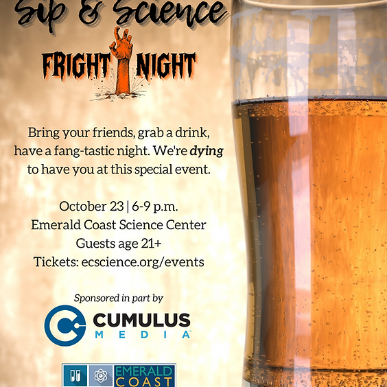 Sip & Science: Fright Night SOLD OUT