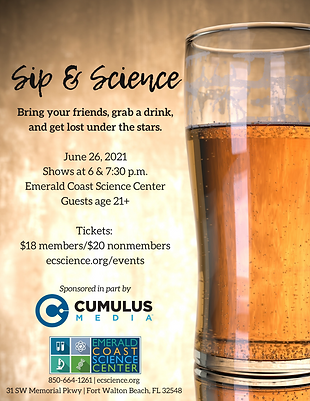 Sip and Science June 26 flyer.png