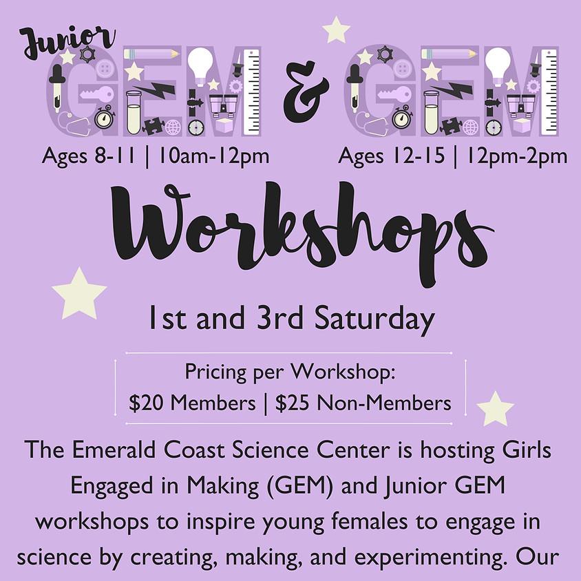 GEM Workshops (Ages 12-15)