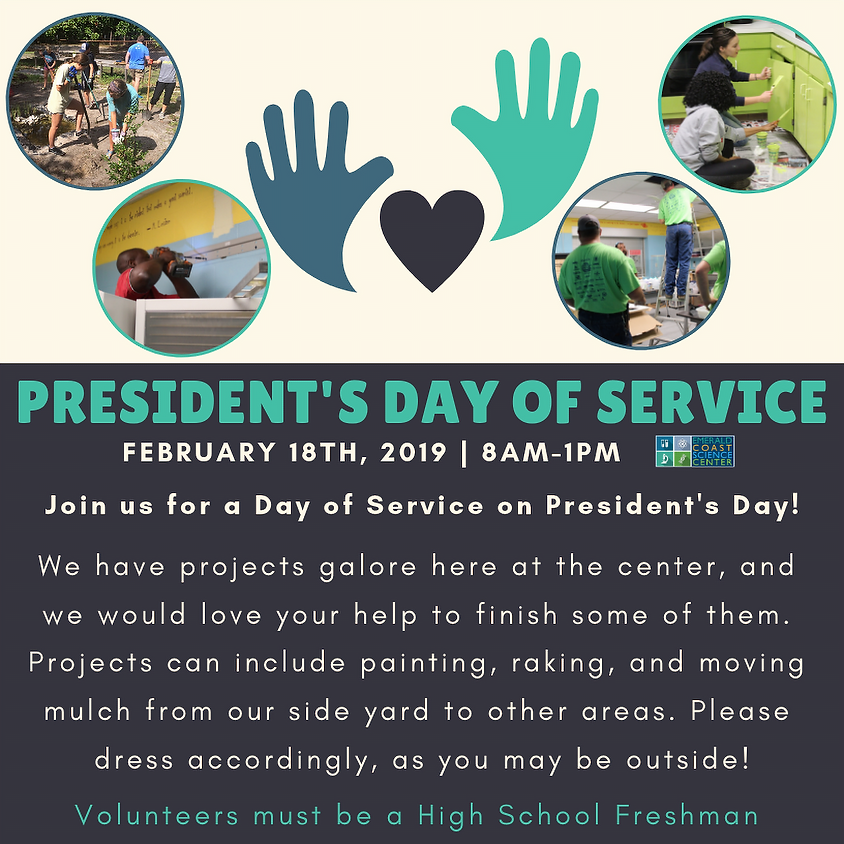 VOLUNTEER OPPORTUNITY: President's Day of Service (1)
