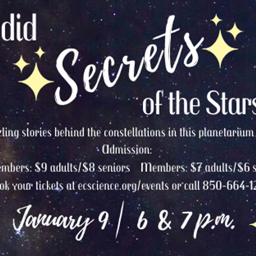 Planetarium Special Feature: Sordid Secrets of the Stars 7 p.m. Show