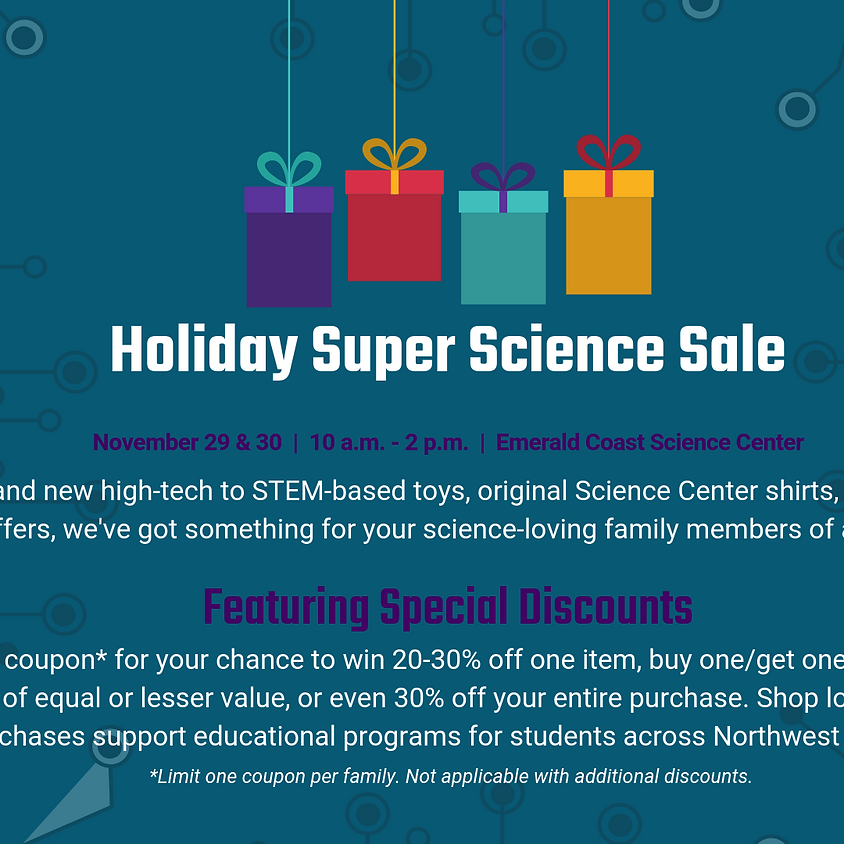 Holiday Super Science Sale