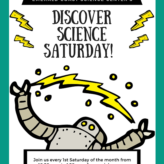 Discover Science Saturday with Special Guest Dr. Lizzie Snow