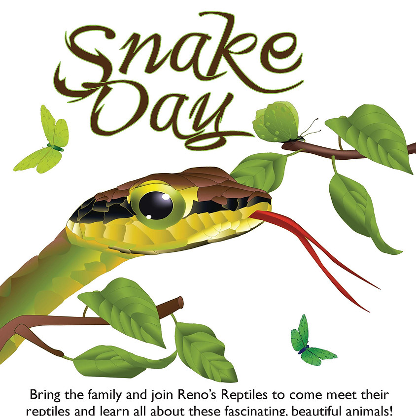 Snake Day with Reno's Reptiles